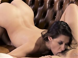 Shyla Jennings and Penny Pax girl/girl threeway