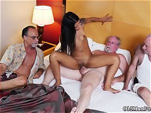 Absurd jizz shot Staycation with a latin bombshell