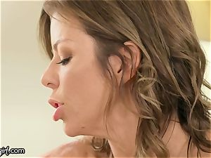 MommysGirl Step-Daughter Spied Alexis Fawx drizzling