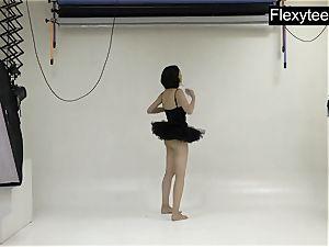Flexyteen Markova Does Gymnastics