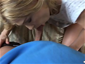 Lucy Heart gets a serious spurting of spunk