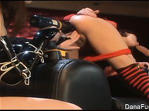 Dana DeArmond pulverizes Naudia Nyce's pink pucker