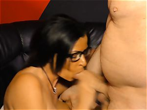 gonzo OMAS - red-hot hard hook-up with mischievous German granny