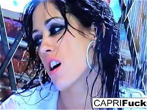 sweetie Capri gets plumbed stiff by Keni