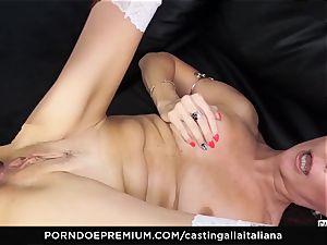 casting ALLA ITALIANA - newcomer ass-fuck gape and smash