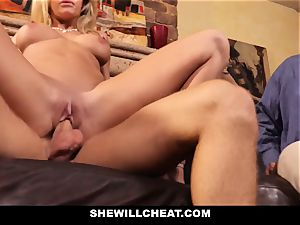 hotwife spouse watches Wifes gash Get wrecked