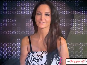 The Stripper practice- Ava Addams and get a uber-cute smash