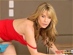 Kharlie Stone has a plenty of to neat up including the honeypot fuck hole of momma Desiree Dalton