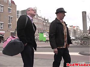 Pussyeaten amsterdam hooker luvs tourist