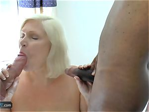 AgedLovE Lacey Starr duo rod throating And gonzo