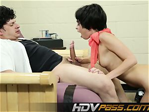 HDVPass Riley Reid in Laverne and Shirley hard-core