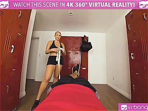 VRBangers.com scorching honey sweaty drilling Her Boxing Coach