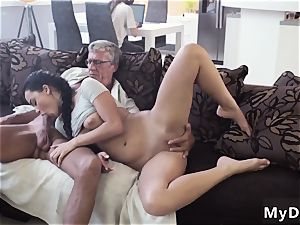 older couple seduce young What would you prefer - computer or your girlplayfellow?