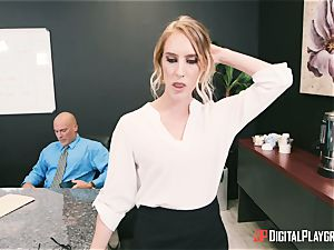 Cadence Lux deep hard missionary coochie boinked