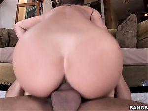 sweeping scorching chick Eva Lovia boned in her raw fuckbox