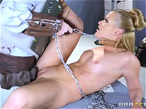 Abby Cross plunged in her wet honeypot