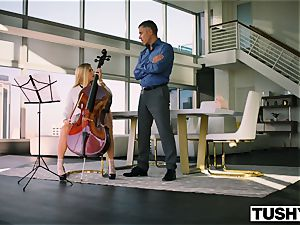 TUSHY Spoiled teenager is penalized And Gaped By Music instructor