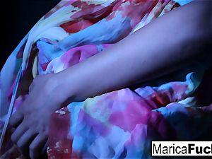 japanese pornstar Marica gets naked