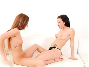 Maddy OReilly loves teasing Katie St Ives wet cunt