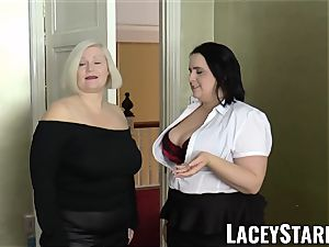 LACEYSTARR - chicks cummed on their sizzling faces by bbc