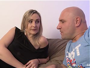 LA new-comer - scorching French first-timer mummy banged hardcore