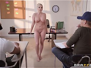 Christie Stevens arched over and smashed doggystyle