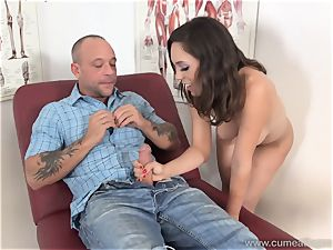 Jade Nile Has Her spouse deepthroat pink cigar and watch Her