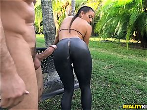 Abigail Mac penetrated in her cock-squeezing labia