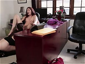 lecturer Sovereign Syre has girly-girl fuck-a-thon with her pupil