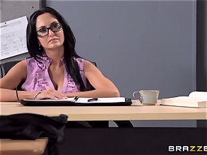 chesty tutor Ava Addams is pounded by her student