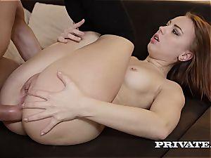 kinky college girl Kira Thorn Takes an ass-fuck...