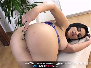 Taco cootchie fucktoy have fun gives bashful stunner an orgasm