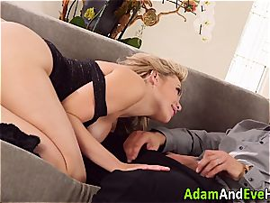 uber-sexy duo Mia Malkova and Danny Mountain pummeling